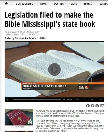Bible Mississippi
